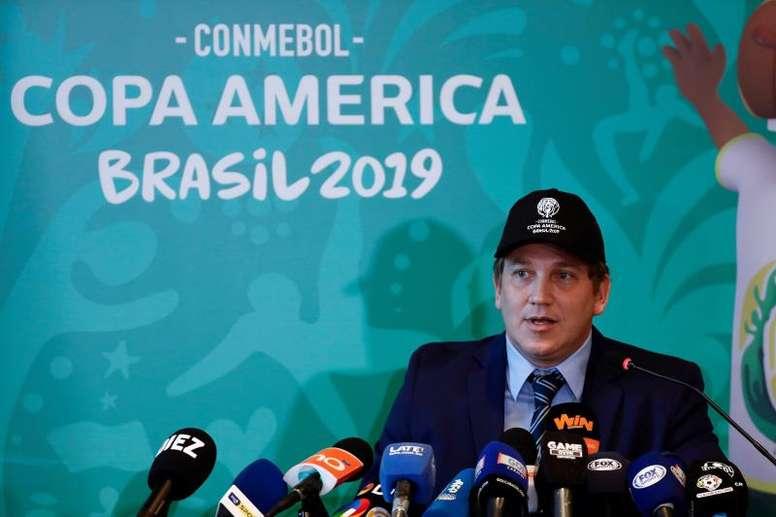 Catar y Australia se 'infiltran' en la Copa América de Argentina y Colombia. EFE