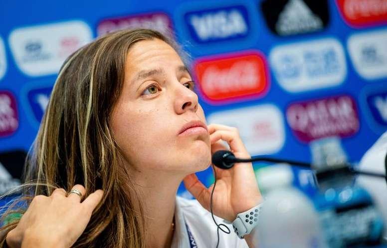Ruth Bravo quiere que haya continuidad tras el Mundial. EFE