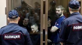 Kokorin y Mamáev, encarcelados de nuevo. EFE
