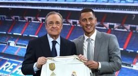 Real Madrid's three sales to make up the Hazard splurge. EFE
