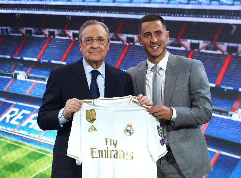 Real Madrid's three sales to make up the Hazard splurge. EFE