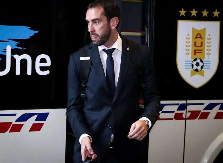 Uruguay se asentó en Belo Horizonte. EFE
