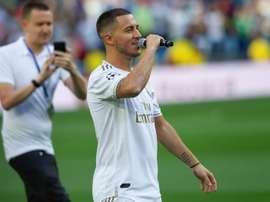 Hazard explica porque escolheu o Real Madrid. EFE