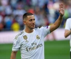 Hazard quer vencer tudo no Real Madrid. EFE