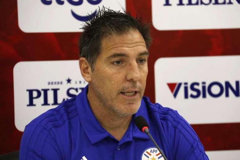 Eduardo Berizzo tratará de sacar lo mejor de Paraguay en la Copa América. EFE/Archivo