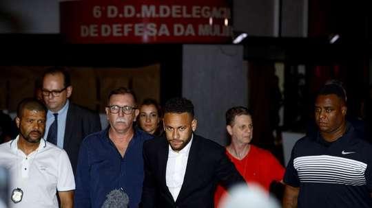 Neymar, de retour au Barça. EFE