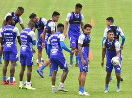 Honduras calienta motores de cara a la Copa Oro. EFE