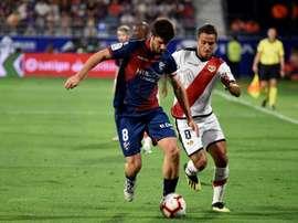 Gonzalo Melero se rapproche du Levante. EFE