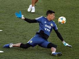 Des émissaires du PSG pour observer Andrada en Copa Libertadores. EFE