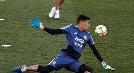 Andrada tendrá visita en el 'Superclásico': el PSG, al acecho. EFE