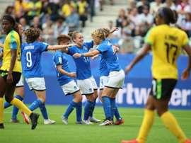 Les compos probables du match de Mondial féminin entre l'Italie et la Chine. EFE