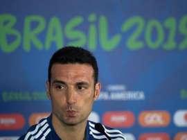 Scaloni podría despedirse tras la Copa América. EFE