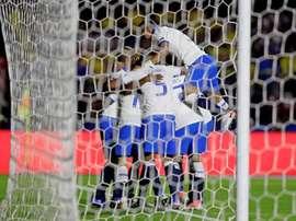 L'état du groupe A de la Copa América. EFE