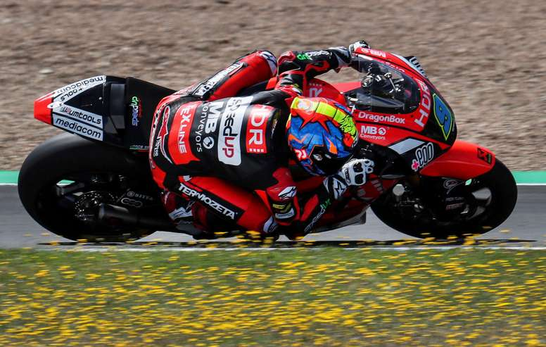 El piloto español de Moto2 Jorge Navarro (HDR Heidrun Speed Up). EFE/Archivo