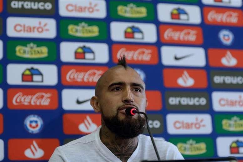 Arturo Vidal recibe la tentación del fútbol chino. EFE