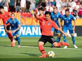 Le Ballon d'Or U20 demande à quitter Valence. EFE