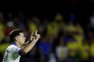 Coutinho mantiene el trono de los goleadores. EFE