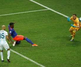 Zapata pense au prochain match. EFE