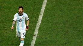 Un Messi perdido en la mediocridad. EFE