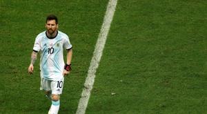 Argentina empata e respira com dificuldade na Copa América. EFE