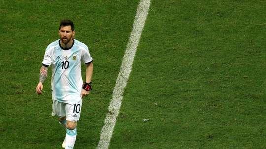 Borghi doute du rôle de Messi avec l'Argentine. EFE