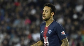 Neymar has been linked with a return to Barcelona. EFE