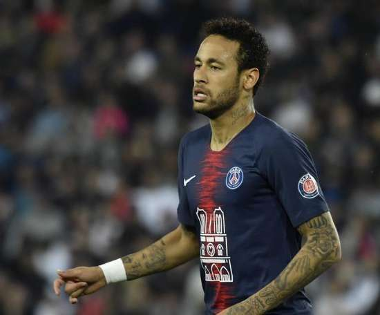 Les plans du Barça pour recruter Neymar. AFP