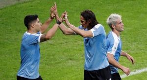 Uruguai é convocado sem Suárez, Cavani e Arrascaeta. EFE