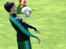Joao Félix, en Madrid para fichar por el Atleti. EFE