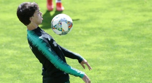 Joao Felix could soon be an Atletico Madrid player. EFE