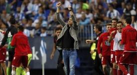 El Dépor entrenó sin Dani Giménez ni Pablo Marí. EFE