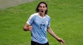 Cavani ajustó cuentas con la Copa América. EFE
