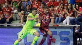 Barça y ElPozo Murcia siguen vivos en la competición. EFE