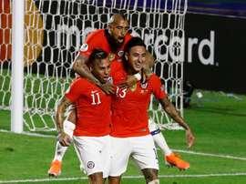 No será el 'Rey', pero Vargas es el amo de la Copa América. EFE