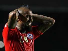 Vidal habló sobre el futuro de Neymar. EFE