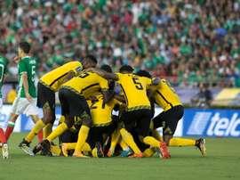 Jamaica jugará de nuevo las semifinales de la Copa Oro. EFE/Archivo