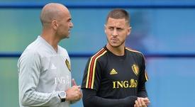 Quand Hazard a refusé la France pour jouer avec la Belgique. EFE