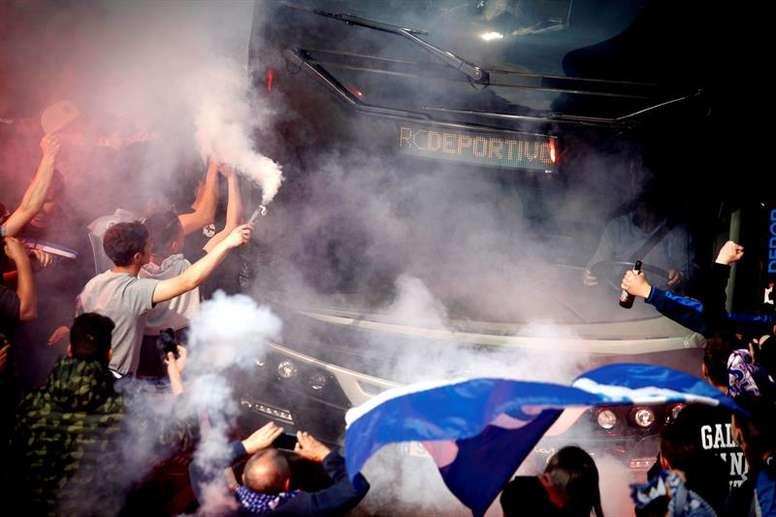 Impiden al Sporting Cambre jugar en Riazor. EFE