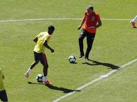 Colombia y Catar se enfrentarán por primera en la Copa América. EFE