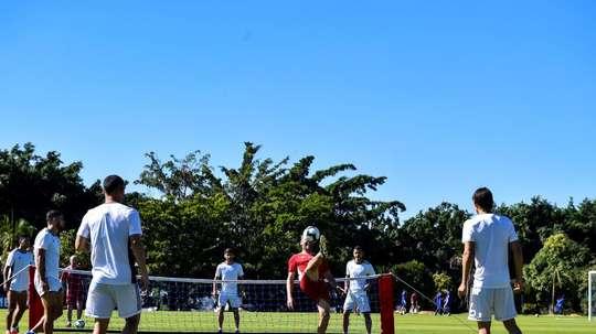 Paraguay podrá contar con Rodrigo Rojas. EFE