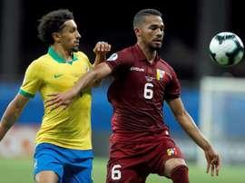 Le Venezuela se concentre sur le match face à la Bolivie. EFE