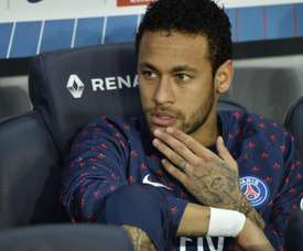 Neymar não vai jogar contra o Toulouse segundo rádio francesa. EFE/Archivo