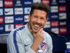 El técnico espera que Joao Félix sea como Griezmann o Giménez. EFE