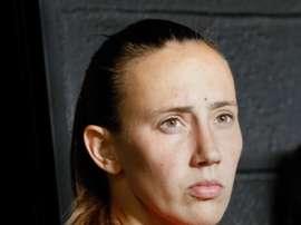 Virginia Torrecilla aseguró que jugará en la Liga Iberdrola sin desvelar el equipo. EFE
