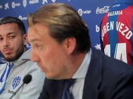 Catalán cree que le irá bien al club 'granota'. EFE