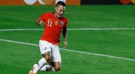 Espectacular historia de amor de Vargas con la Copa América. EFE