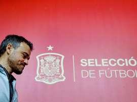 Luis Enrique aurait demandé une baisse de son salaire. EFE