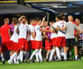 Polonia se ha transformado en una de las favoritas para pasar de fase. EFE