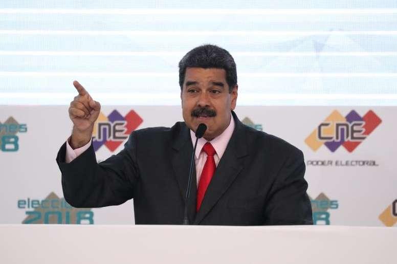 Maduro agradeció al VAR su actuación ante Brasil.  EFE/Archivo