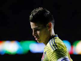 James Rodriguez lors du Match Colombie-Qatar. 19/06/2019 EFE